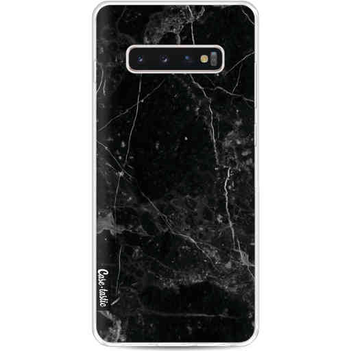 Casetastic Softcover Samsung Galaxy S10 Plus - Black Marble