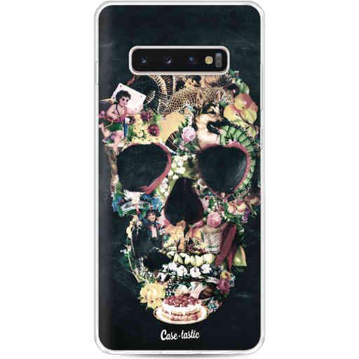 Casetastic Softcover Samsung Galaxy S10 Plus - Vintage Skull