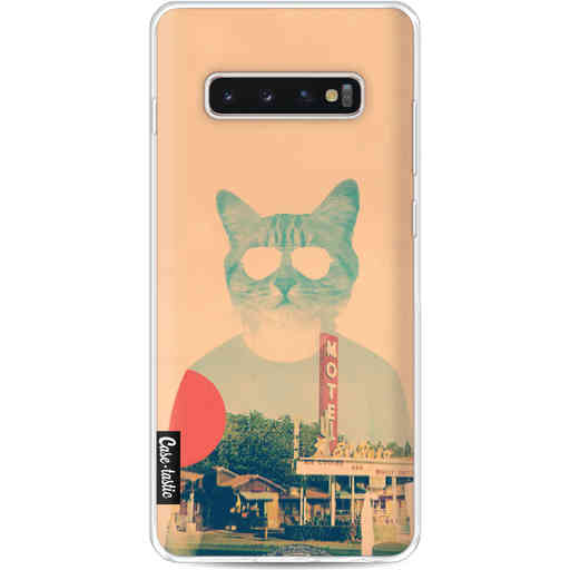 Casetastic Softcover Samsung Galaxy S10 Plus - Cool Cat