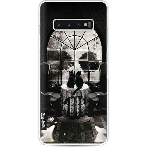 Casetastic Softcover Samsung Galaxy S10 Plus - Room Skull BW
