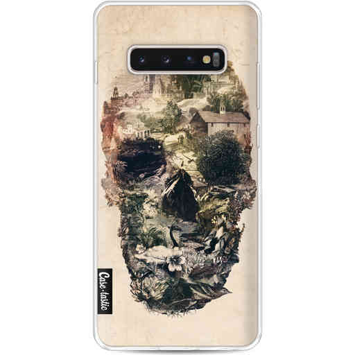 Casetastic Softcover Samsung Galaxy S10 Plus - Skull Town