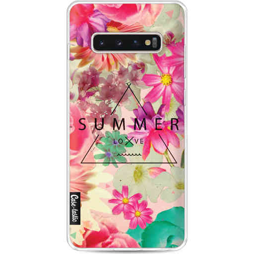 Casetastic Softcover Samsung Galaxy S10 Plus - Summer Love Flowers