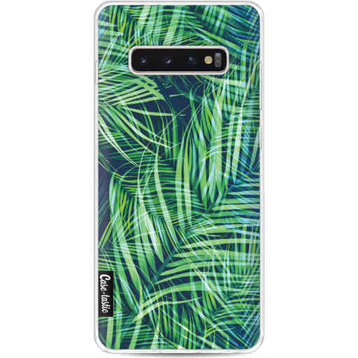 Casetastic Softcover Samsung Galaxy S10 Plus - Palm Leaves