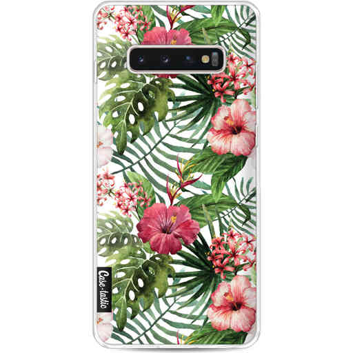 Casetastic Softcover Samsung Galaxy S10 Plus - Tropical Flowers