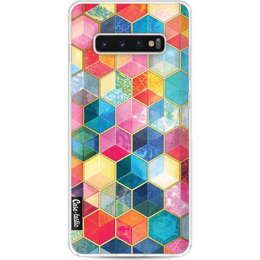 Casetastic Softcover Samsung Galaxy S10 Plus - Bohemian Honeycomb