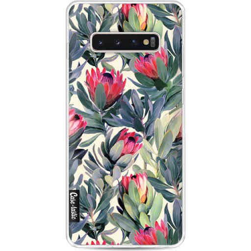 Casetastic Softcover Samsung Galaxy S10 Plus - Painted Protea