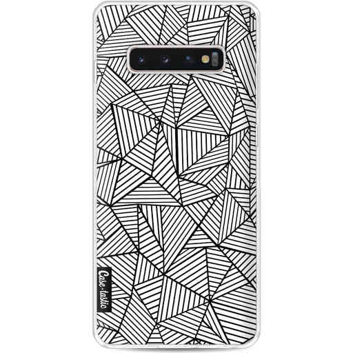 Casetastic Softcover Samsung Galaxy S10 Plus - Abstraction Lines