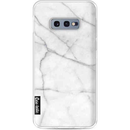 Casetastic Softcover Samsung Galaxy S10e - White Marble
