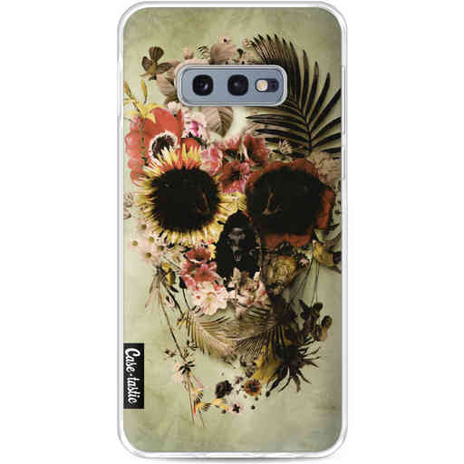 Casetastic Softcover Samsung Galaxy S10e - Garden Skull Light