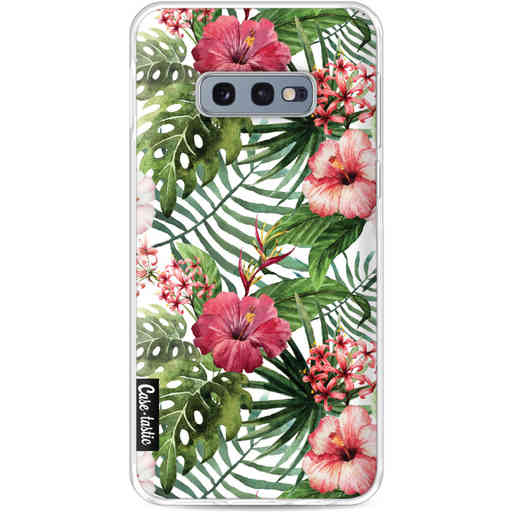 Casetastic Softcover Samsung Galaxy S10e - Tropical Flowers