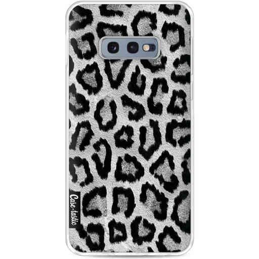 Casetastic Softcover Samsung Galaxy S10e - Grey Leopard