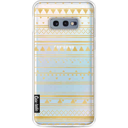Casetastic Softcover Samsung Galaxy S10e - Gold Tribal