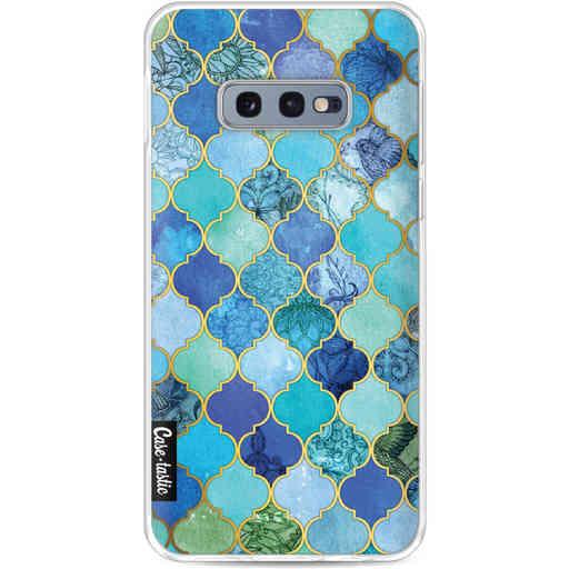 Casetastic Softcover Samsung Galaxy S10e - Aqua Moroccan Tiles