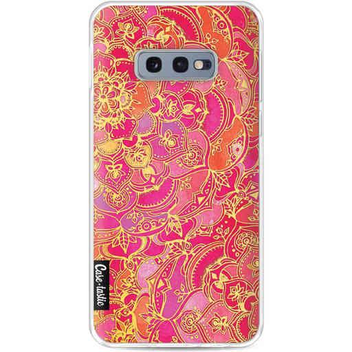 Casetastic Softcover Samsung Galaxy S10e - Hot Pink Barroque