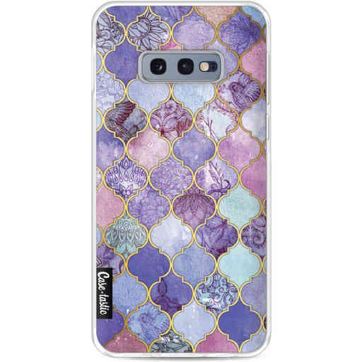 Casetastic Softcover Samsung Galaxy S10e - Purple Moroccan Tiles