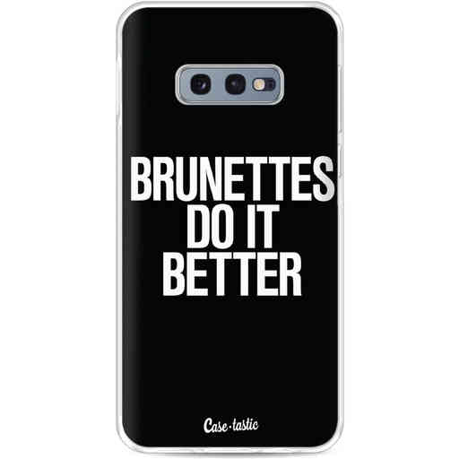 Casetastic Softcover Samsung Galaxy S10e - Brunettes Do It Better