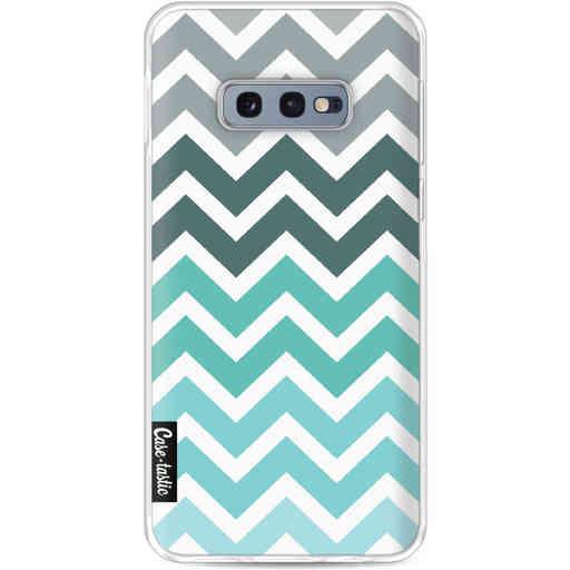 Casetastic Softcover Samsung Galaxy S10e - Tiffany Fade Chevron