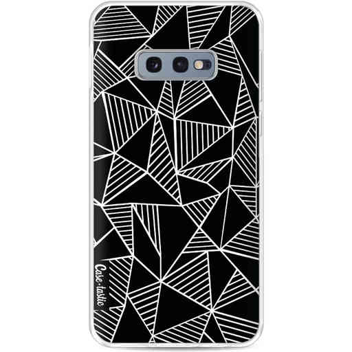 Casetastic Softcover Samsung Galaxy S10e - Abstraction Lines Black