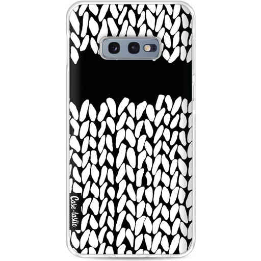 Casetastic Softcover Samsung Galaxy S10e - Missing Knit Black