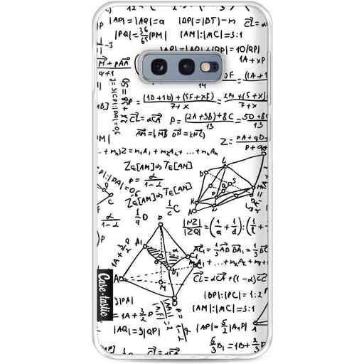 Casetastic Softcover Samsung Galaxy S10e - You Do The Math White
