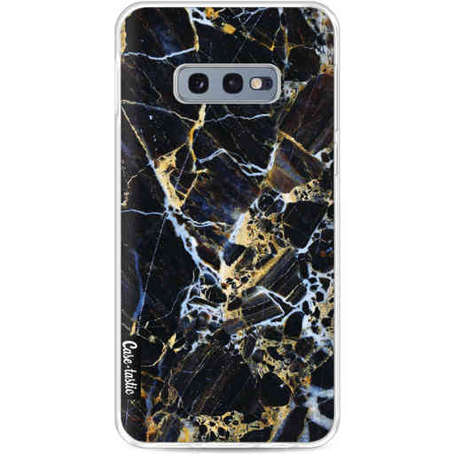 Casetastic Softcover Samsung Galaxy S10e - Black Gold Marble