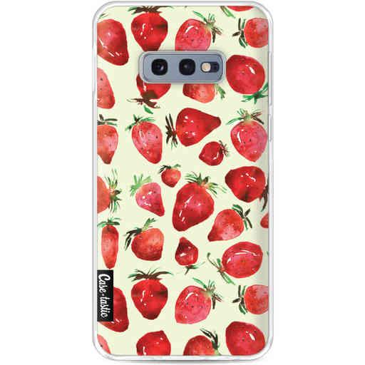 Casetastic Softcover Samsung Galaxy S10e - Strawberry