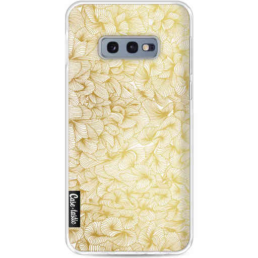 Casetastic Softcover Samsung Galaxy S10e - Abstract Pattern Gold