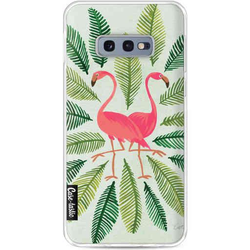 Casetastic Softcover Samsung Galaxy S10e - Flamingos Green