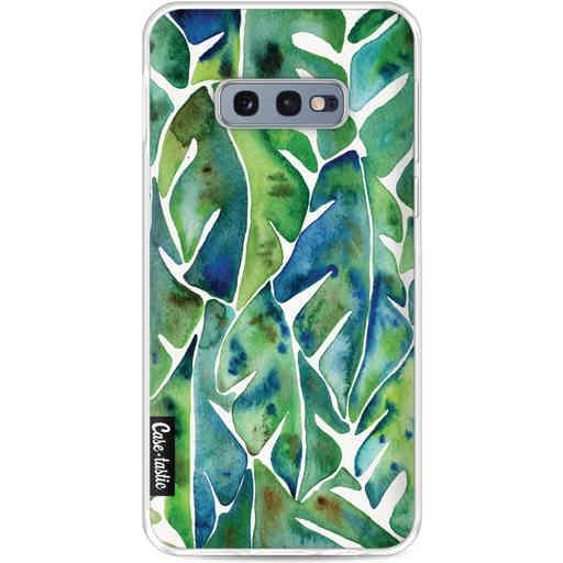Casetastic Softcover Samsung Galaxy S10e - Green Philodendron