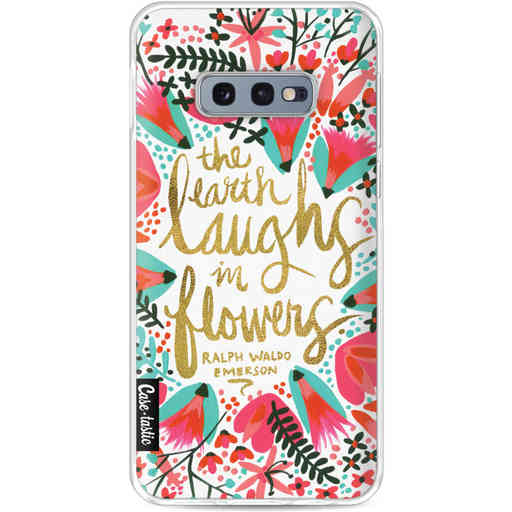 Casetastic Softcover Samsung Galaxy S10e - Laughs Flowers Pink
