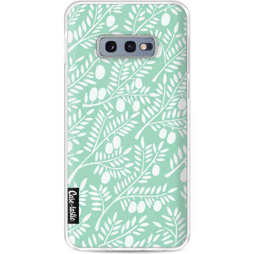 Casetastic Softcover Samsung Galaxy S10e - Mint Olive Branches