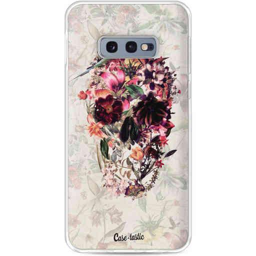 Casetastic Softcover Samsung Galaxy S10e - Flower Skull