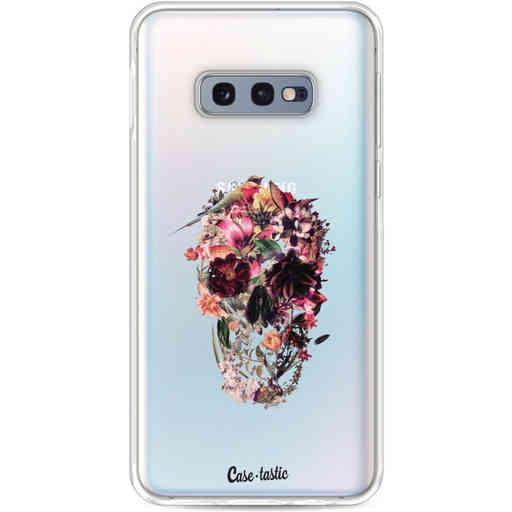Casetastic Softcover Samsung Galaxy S10e - Transparent Skull
