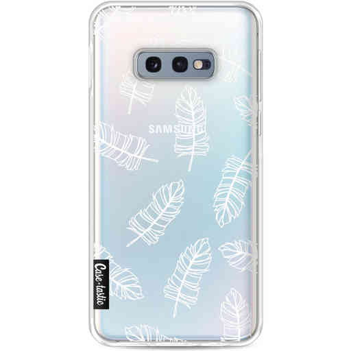 Casetastic Softcover Samsung Galaxy S10e - Feathers Outline