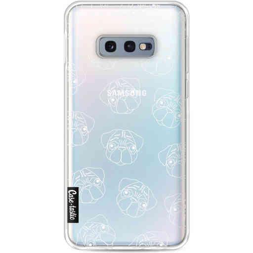 Casetastic Softcover Samsung Galaxy S10e - Pug Outline