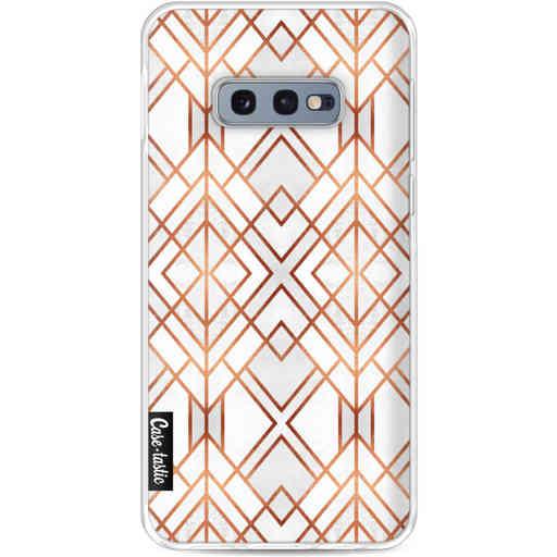 Casetastic Softcover Samsung Galaxy S10e - Copper Geo
