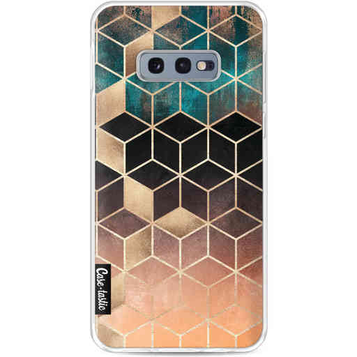 Casetastic Softcover Samsung Galaxy S10e - Ombre Dream Cubes
