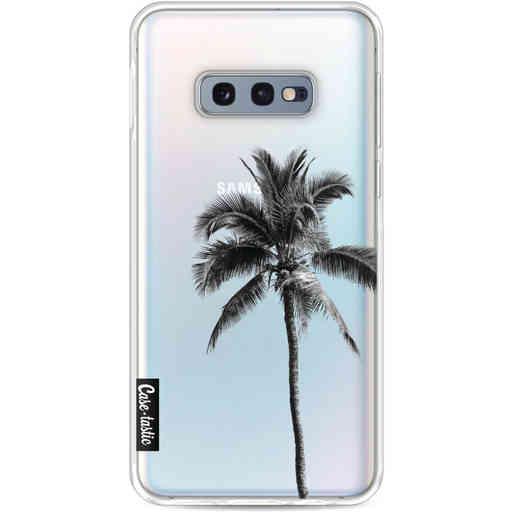 Casetastic Softcover Samsung Galaxy S10e - Palm Tree Transparent