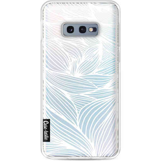 Casetastic Softcover Samsung Galaxy S10e - Wavy Outlines