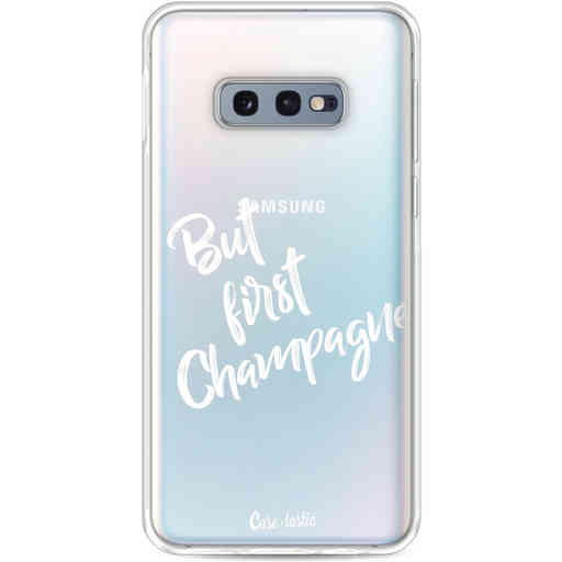 Casetastic Softcover Samsung Galaxy S10e - But First Champagne