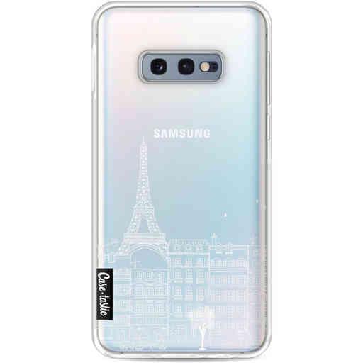 Casetastic Softcover Samsung Galaxy S10e - Paris City houses White