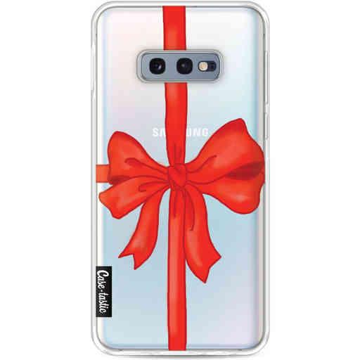 Casetastic Softcover Samsung Galaxy S10e - Christmas Ribbon