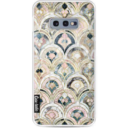 Casetastic Softcover Samsung Galaxy S10e - Art Deco Marble Tiles