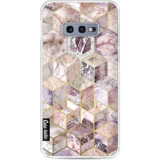Casetastic Softcover Samsung Galaxy S10e - Blush Quartz Honeycomb