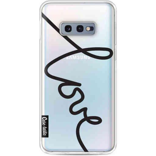 Casetastic Softcover Samsung Galaxy S10e - Written Love Black
