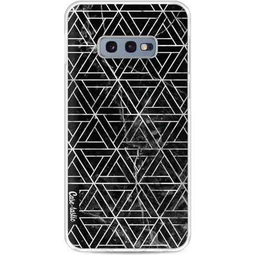 Casetastic Softcover Samsung Galaxy S10e - Abstract Marble Triangles