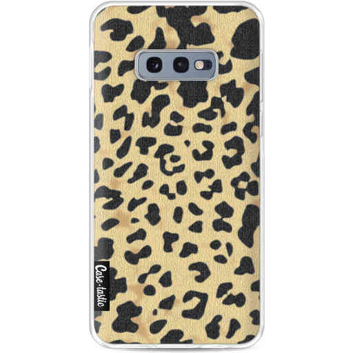 Casetastic Softcover Samsung Galaxy S10e - Leopard Print Sand