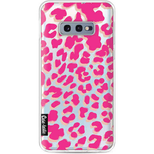 Casetastic Softcover Samsung Galaxy S10e - Leopard Print Pink