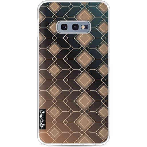 Casetastic Softcover Samsung Galaxy S10e - Abstract Diamonds