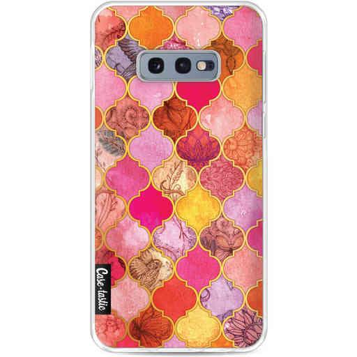 Casetastic Softcover Samsung Galaxy S10e - Pink Moroccan Tiles
